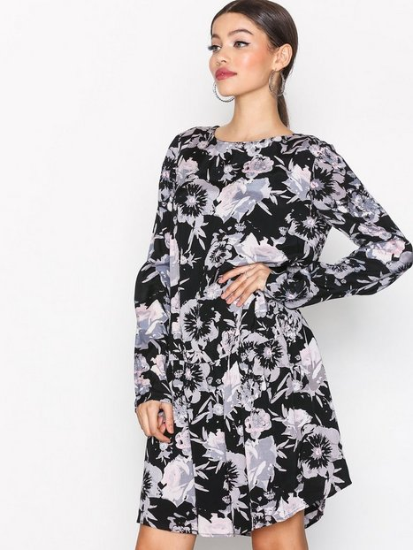 Billede af Vila Viastha L/S Dress Loose fit dresses Sort