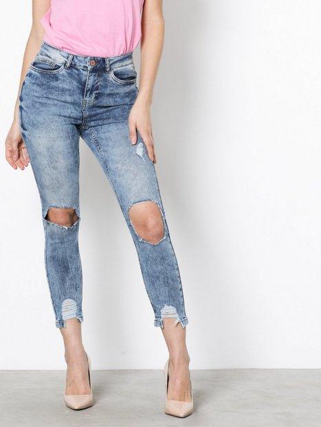 Noisy May Nmlexi Hw S.Slim Dest. Jeans VI129 Skinny - Noisy May
