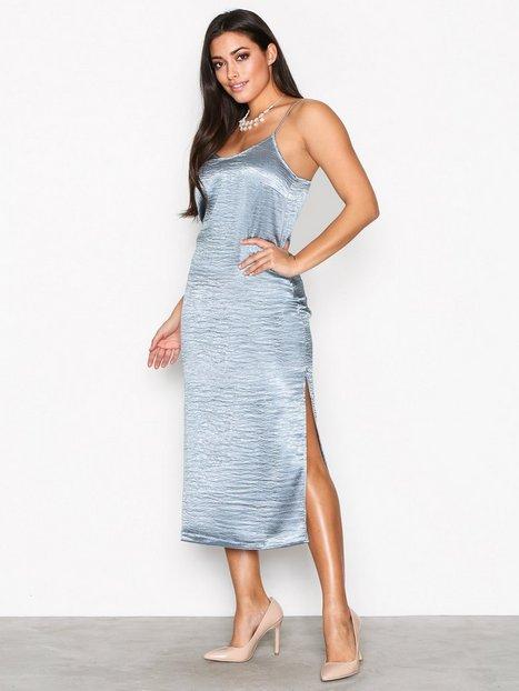 Vero Moda Vmnedaly 7/8 Slit Dress D2-1 Maksimekot Sininen thumbnail