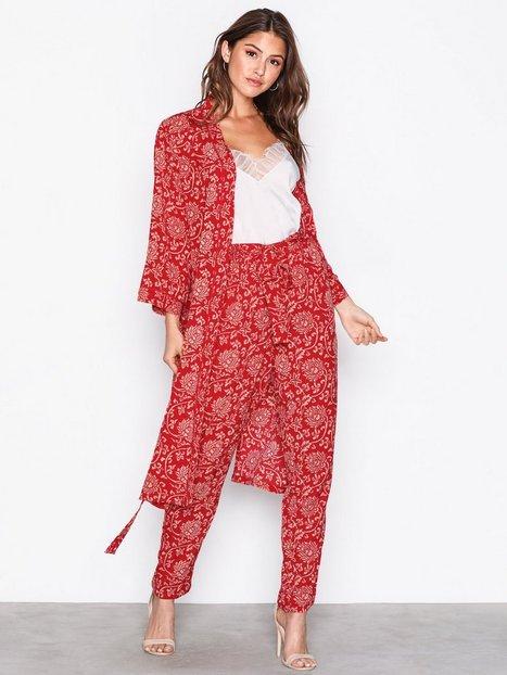 Billede af Object Collectors Item Objapala 3/4 Kimono a Ps Kimonoer Rød