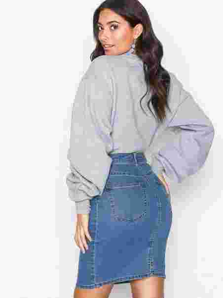 9c2d8fb704 Vmhot Nine Hw Dnm Pencil Skirt Noos - Vero Moda - Blue - Skirts ...