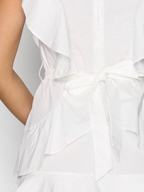 YASAYA S/S WHITE DRESS
