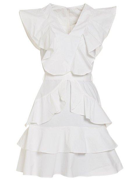 YASAYA S/S WHITE DRESS