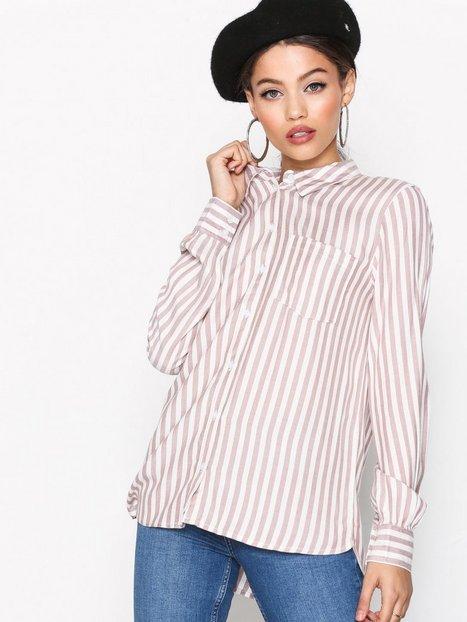 Jacqueline de Yong Jdyakira L/S Pocket Shirt Wvn Kauluspaidat Vaaleanvioletti thumbnail