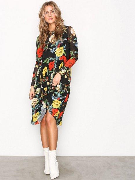 Billede af Y.A.S Yascalibra Dress Langærmet kjole Sort