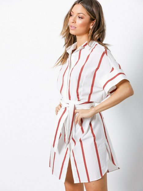By Malene Birger Stalla Loose fit dresses Red