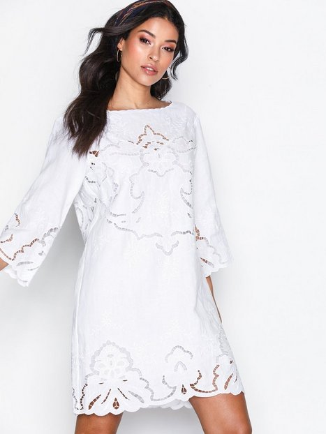 Billede af Polo Ralph Lauren 3/4 Dress Loose fit dresses White