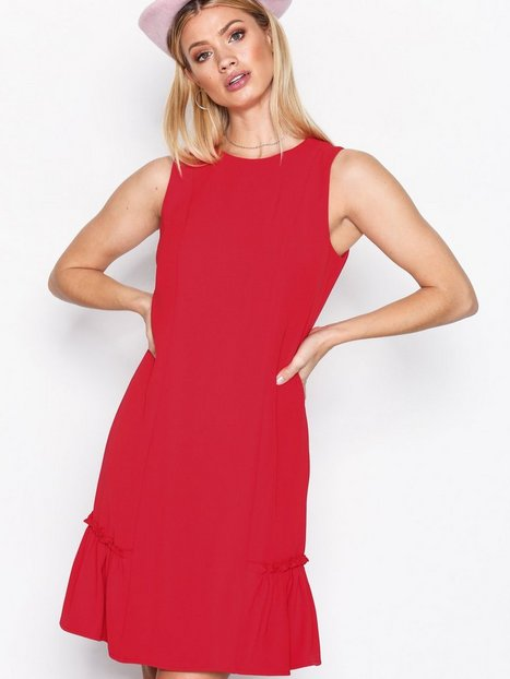 Billede af Michael Michael Kors Sleeveless Ruffle Dress Loose fit True Red