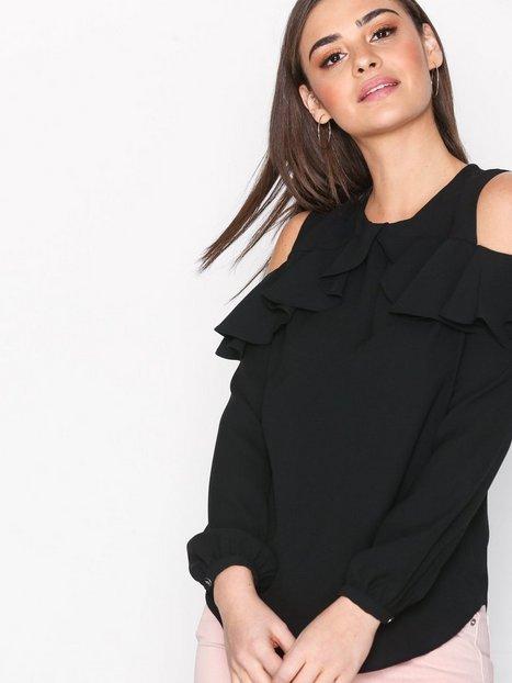 Lauren Ralph Lauren Kinsun Long Sleeve Shirt Arkipaidat Black thumbnail
