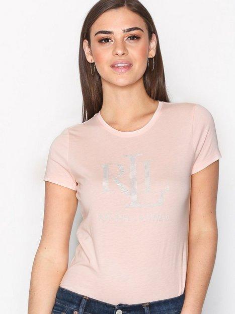 Lauren Ralph Lauren Katlin Shortsleeve Knit T-Paidat Pink thumbnail
