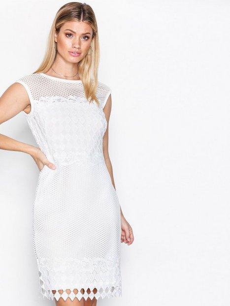 Billede af Lauren Ralph Lauren Äloyanna Dress Kropsnære kjoler White