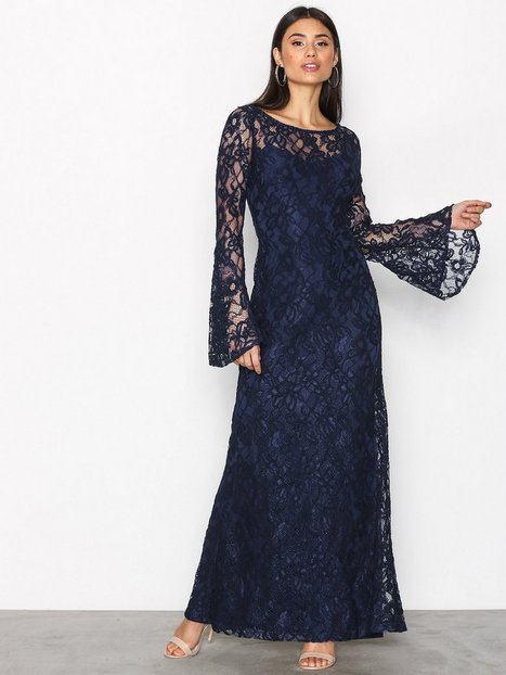 Lauren Ralph Lauren Laisena Evening Dress Maksimekot Indigo thumbnail