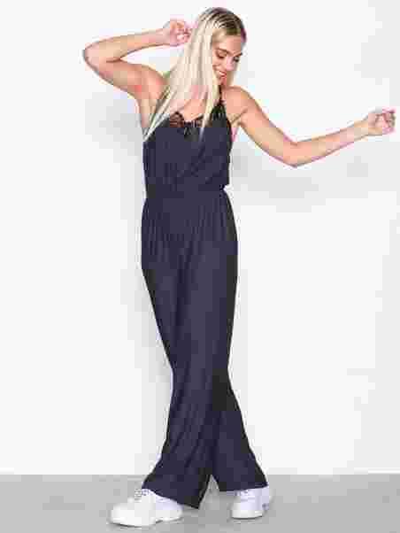 3c31390baedb Yasmilia Jumpsuit - Y.A.S - Dark Blue - Jumpsuits - Clothing - Women ...
