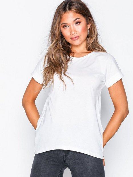 Billede af Only Jdylouisa S/S Fold Up Top Jrs Noos T-shirt Hvid