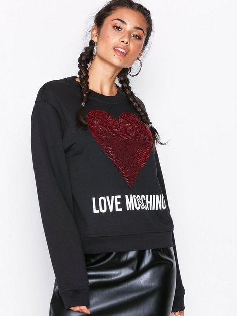 Love Moschino W630616M3928 Sweatshirts Black