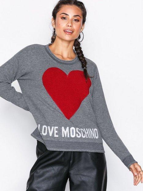Love Moschino WSG2311X0683 Strikkede trøjer Grey Melange