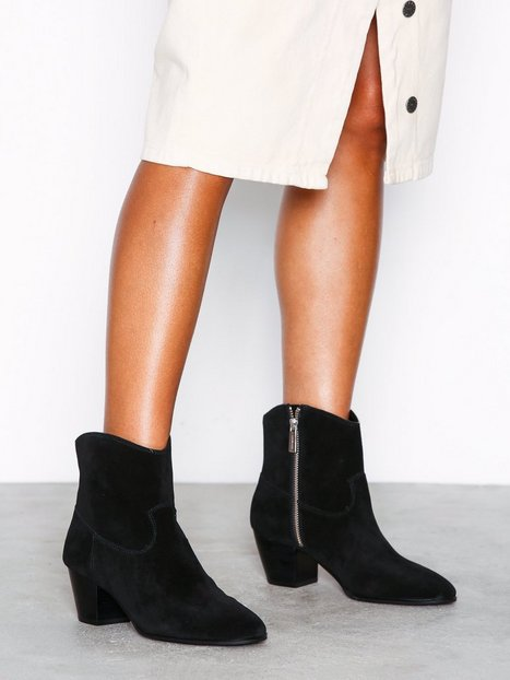 Billede af Michael Michael Kors Avery Ankle Boot Heel Sort