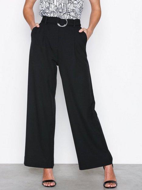 Billede af Selected Femme Sfaila Hw Cropped Pant Ex Bukser Sort