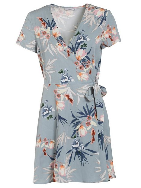 onlDEVON 2/4 WRAP DRESS WVN