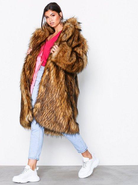 Billede af Svea Marble fur jacket Faux Fur Offwhite