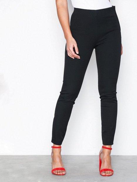 Billede af Selected Femme Sfilue Mw Crop Slim Pant Bukser Sort