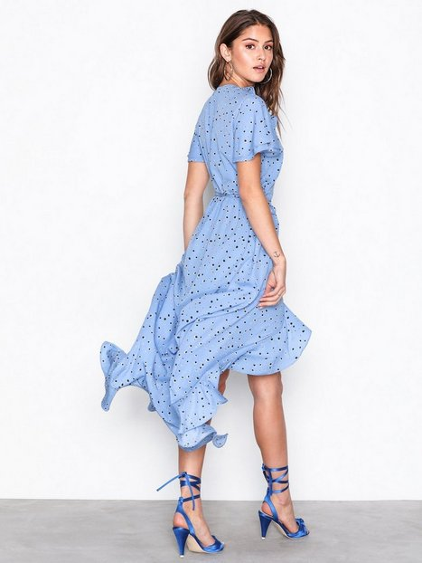 VMHANNA S/S WRAP MAXI DRESS KI