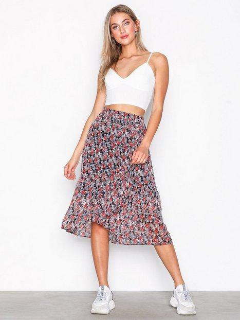 Billede af Pieces Pcamper Midi Wrap Skirt Ff Midi nederdele Sort