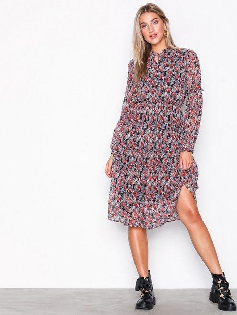 Billede af Pieces Pcamper Ls Midi Dress Ff Kjoler Sort