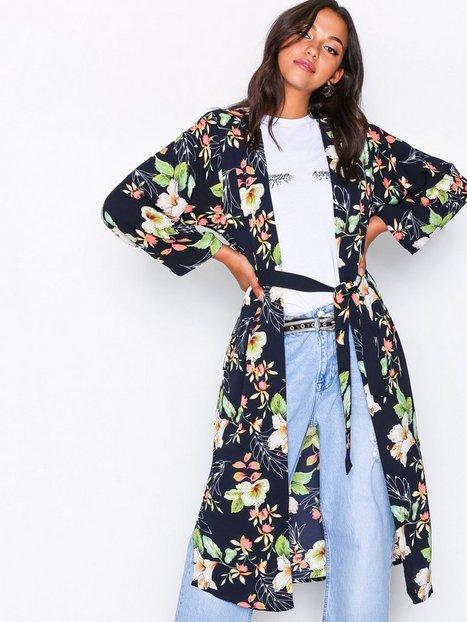 Billede af Jacqueline de Yong Jdytrick 7/8 Kimono Wvn Kappe & Poncho Mørkeblå