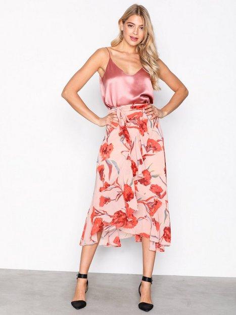 Billede af Y.A.S Yascacco Wrap Skirt Midi nederdele Lys Rosa