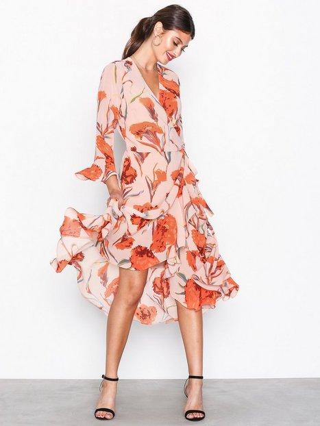 Billede af Y.A.S Yascacco Wrap Dress Loose fit Lys Rosa