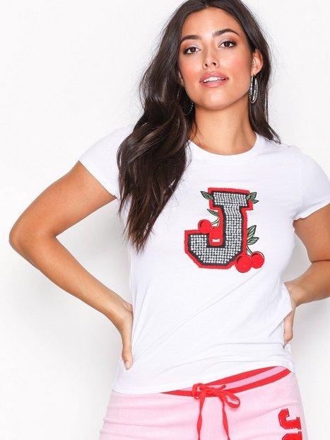 Billede af Juicy Couture Encrusted J Tee T-shirt White