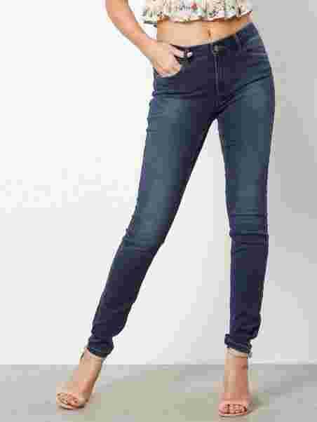 c98a245ce755e7 Vmseven Nw S Shape Up Jeans Vi510 N - Vero Moda - Blue - Jeans ...
