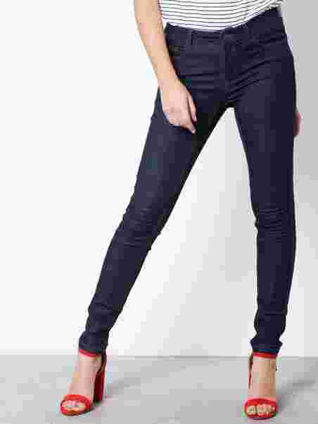 d0bf1bbd9d2746 Vmseven Nw S Shape Up Jeans Vi500 N - Vero Moda - Dark Blue - Jeans ...
