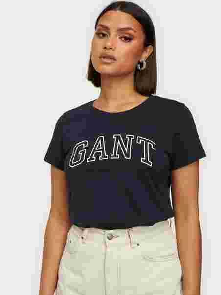 Evening Logo O1Arch Capsleeve Clothing Shirt Gant T Tops TJclF1uK3