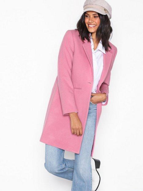 Gant G2. Classic Tailored Coat Frakker Pink