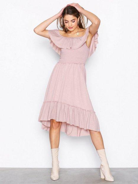 Vila Vipetra S/S Dress Loose fit dresses Ljus Rosa - Vila