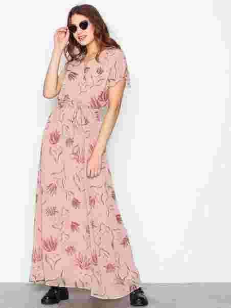 f291c7bcf66 Visaffa Nandi S S Maxi Dress - Vila - Light Pink - Dresses ...