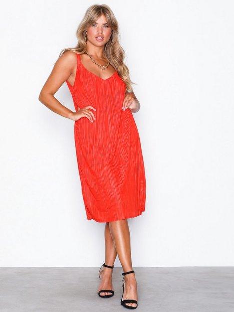 Billede af Vila Visolana Strap Dress Loose fit dresses Orange