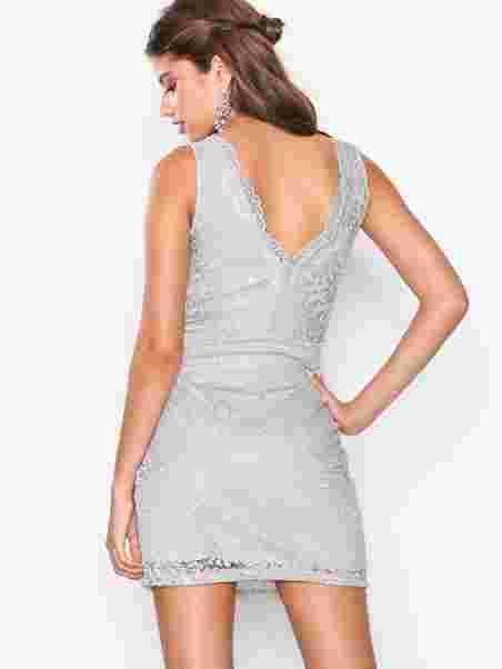 3d68fc8fd287 Shoppa Vmceleb S/L Lace Dress Exp - Online Hos Nelly.com