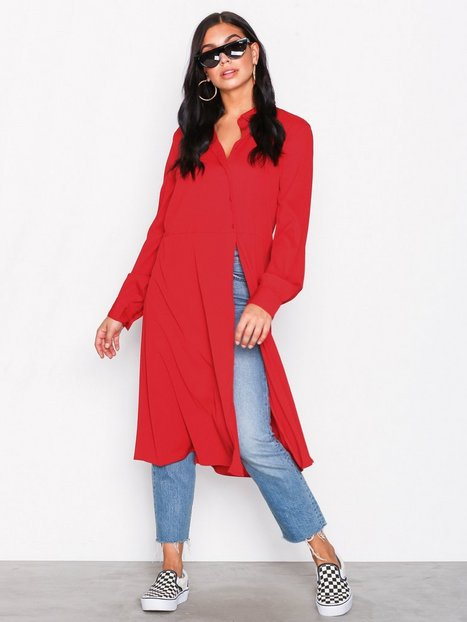 Vila Vilasha L/S Midi Shirt Dress Loose fit dresses - Vila