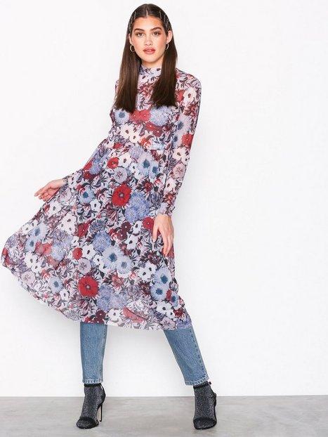 Vila Vielana L/S Midi Dress