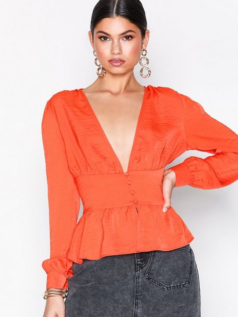 Billede af Ivyrevel Adena Blouse Tunikaer Hot Orange