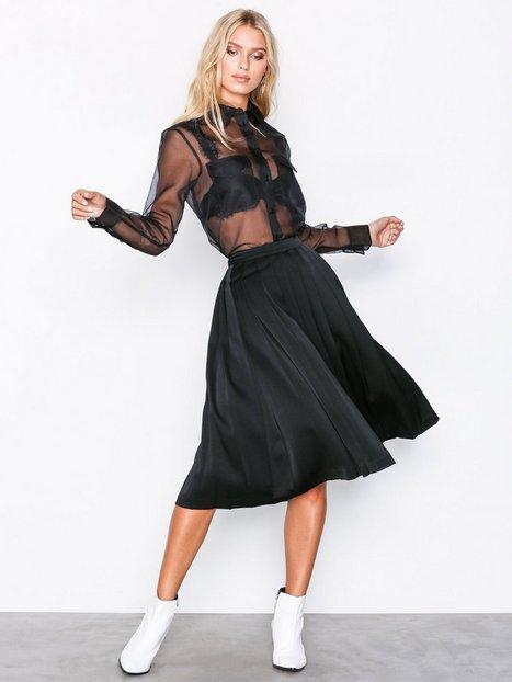 Billede af Filippa K Pleated Midi Skirt Midi nederdele Black