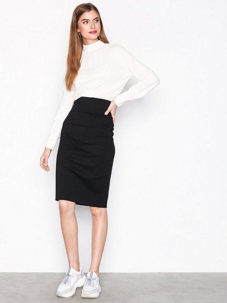 Billede af Filippa K High Waisted Pencil Skirt Midi nederdele Black