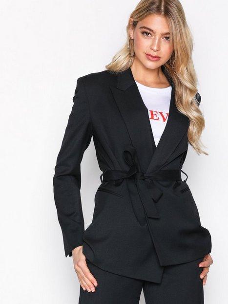 Filippa K Grace Belted Blazer Blazere Black