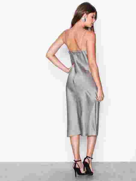 8365fbacf27 Satin Slip Dress - Filippa K - Oyster - Party Dresses - Clothing ...
