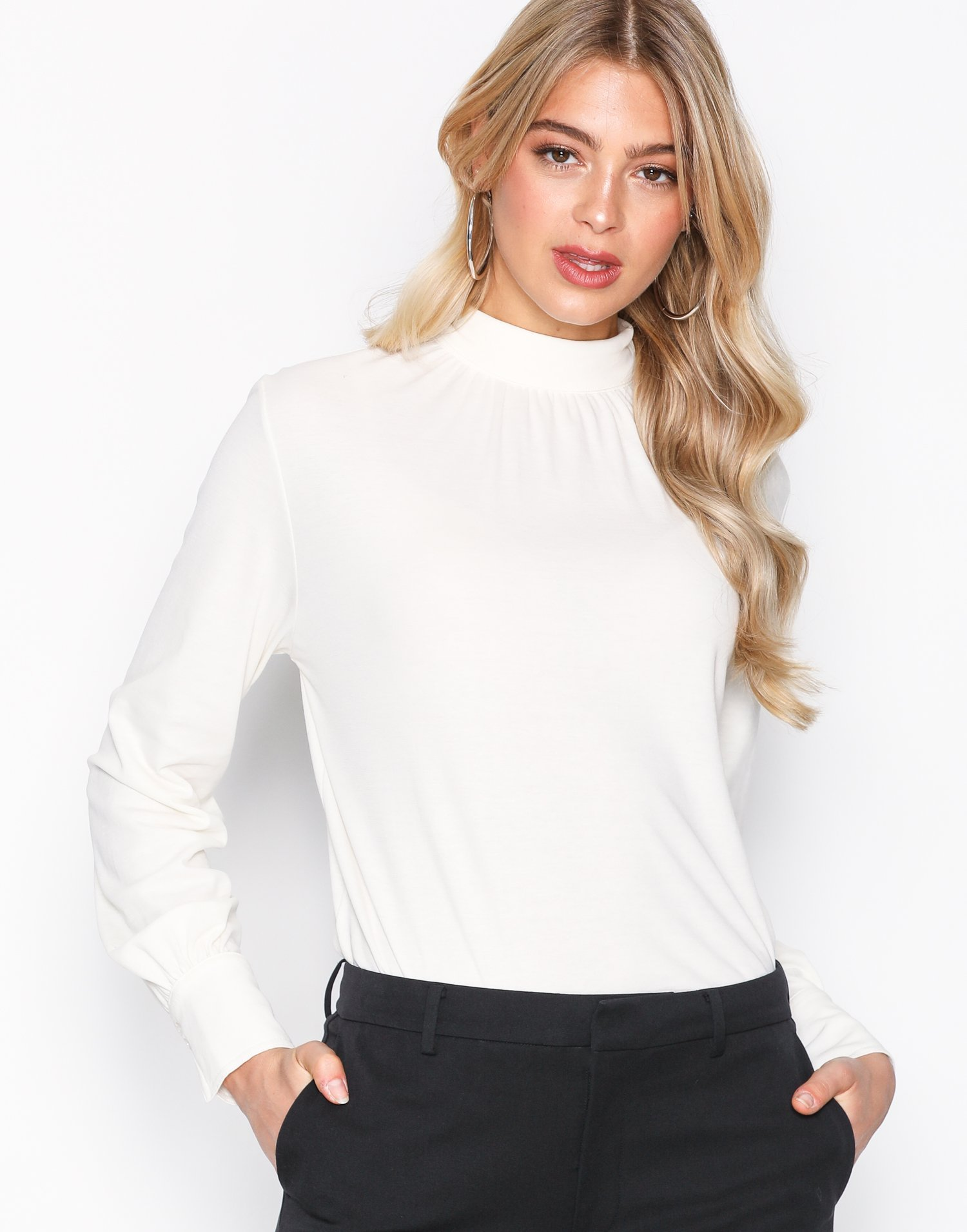 crepe blouse top filippa k
