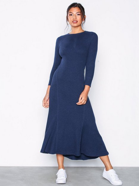 Billede af Polo Ralph Lauren 3/4 Sleeve Casual Dress Maxikjoler
