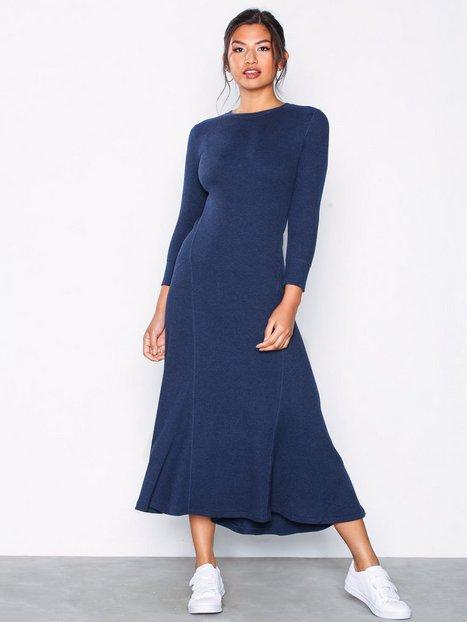 Billede af Polo Ralph Lauren 3/4 Sl Dress-Long Sleeve-Casual Dress Maxikjoler Marine